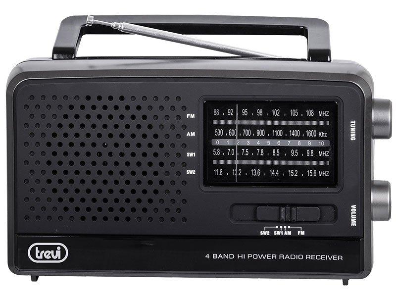 Radio Portatile Multibanda World Receiver Trevi MB 746 W