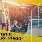 I televisori portatili ideali per i tuoi viaggi in camper o in barca
