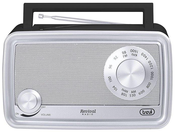 RADIO PORTATILE REVIVAL TREVI RA 770 V NERO