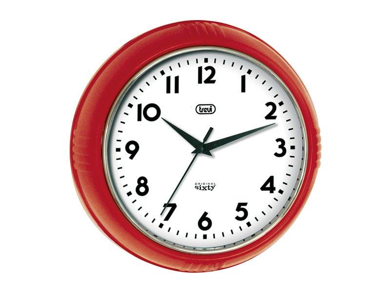 Orologio da parete Retrò 24,5 cm. Trevi OM 3314 S