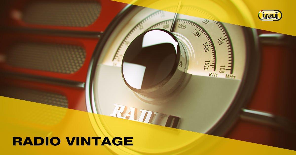 Radio portatili compatte dal gusto vintage
