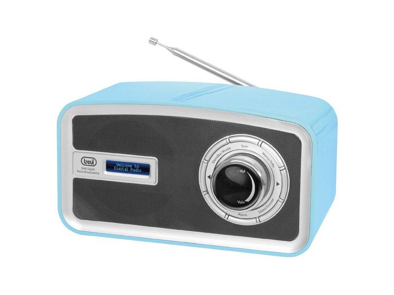 RADIO DAB PORTATILE TREVI DAB 792 R AZZURRA