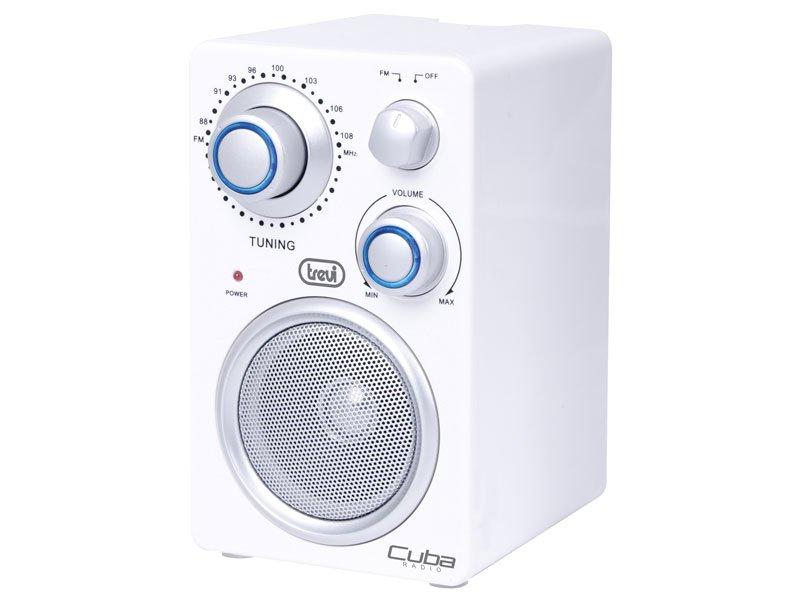 Trevi Radio Portatile FM Cuba con ingresso Aux in