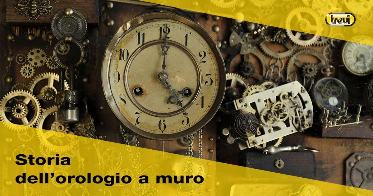 Storia dell'orologio a muro