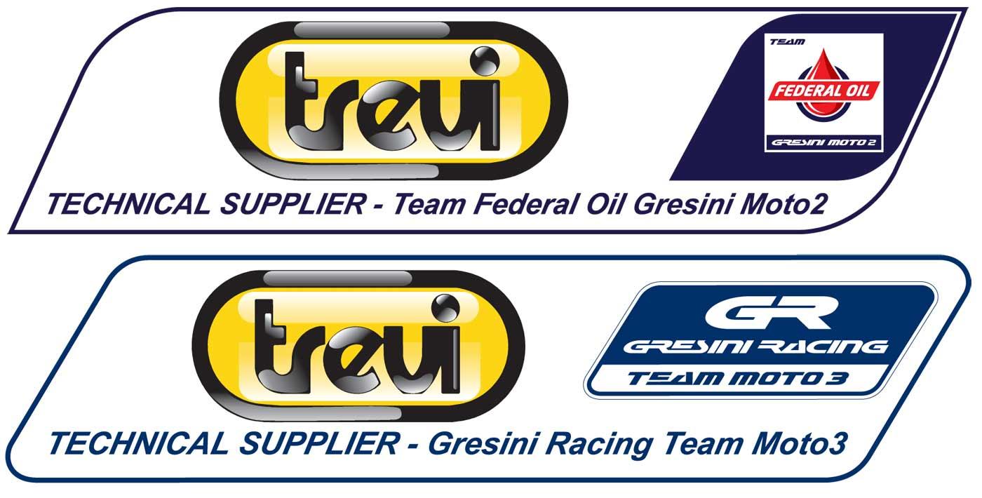 Loghi partnership Trevi & Gresini