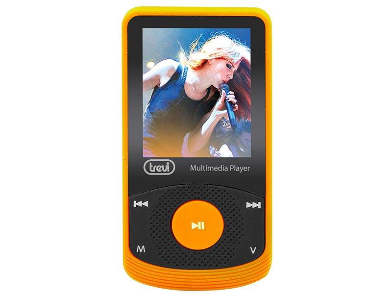 LETTORE MULTIMEDIALE MP3 TREVI MPV 1725 SD ARANCIO