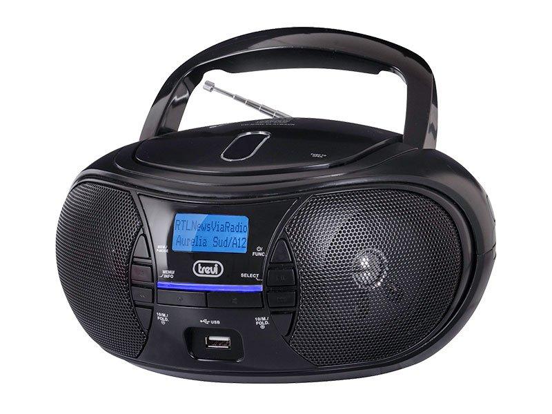 Boombox radio e lettore CD Trevi CMP 581 DAB