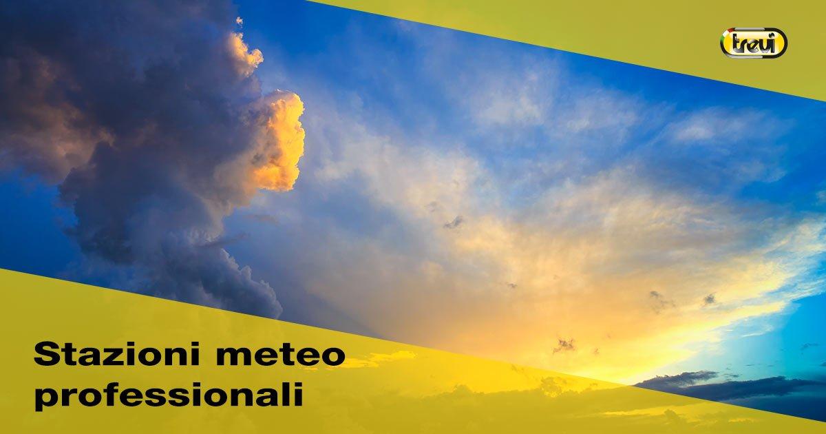 Stazioni meteorologiche professionali