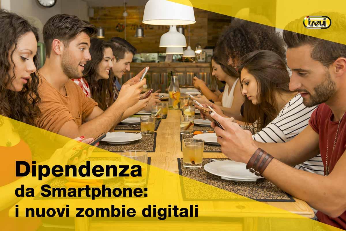 Dipendenza da smartphone: siamo tutti zombie tecnologici?