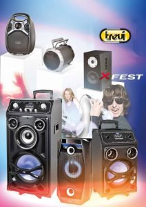 Altoparlanti Karaoke Trevi XFest