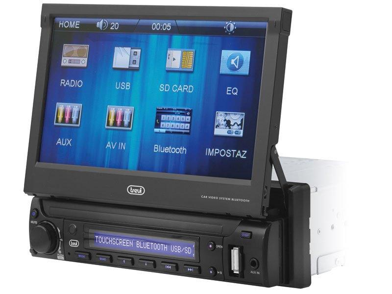 "Autoradio con Display 7"" Touchscreen e Bluetooth Trevi MDV 6350 BT"