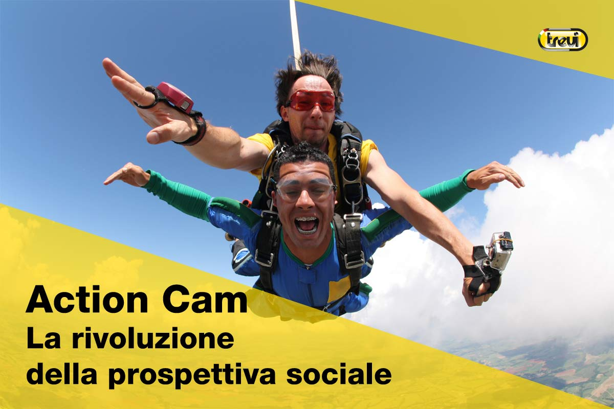 Action cam: la rivoluzione sociale