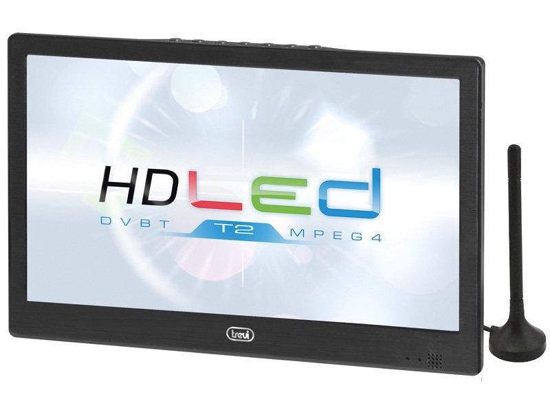 TV portatile da viaggio 10.1 pollici HEVC USB TREVI LTV 2010 HE con Decoder DVB-T2 integrato