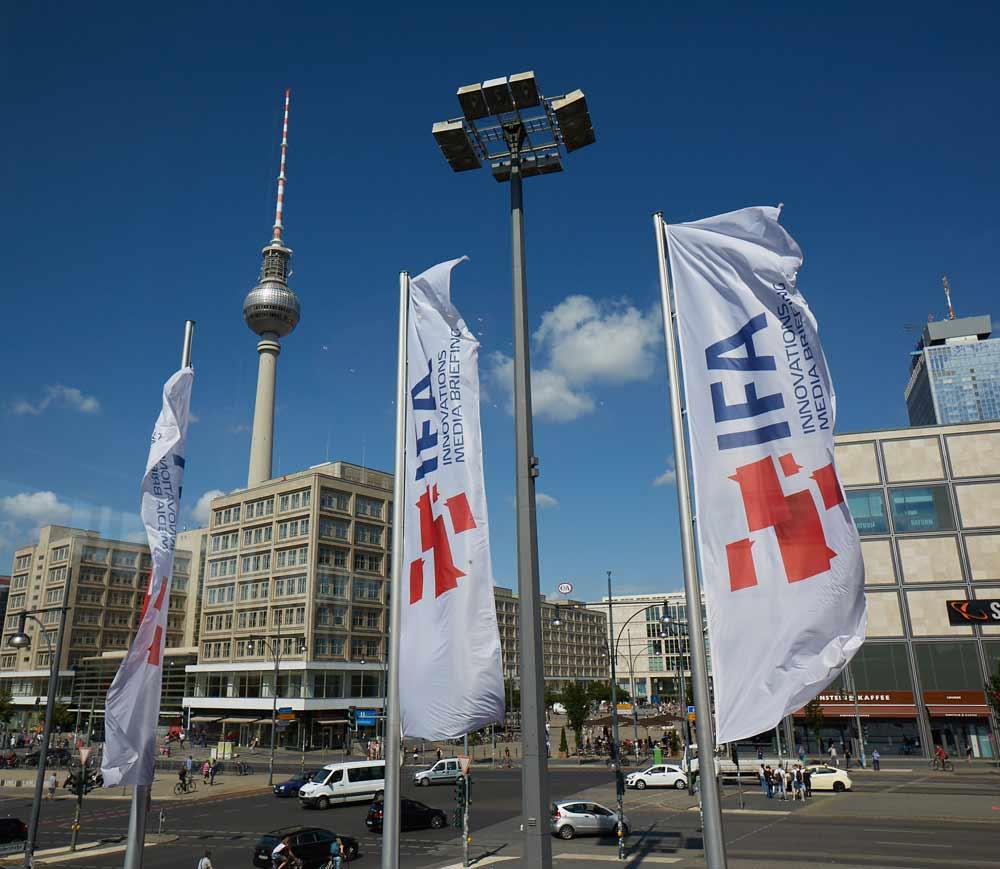 Bandiere IFA Berlino 2016