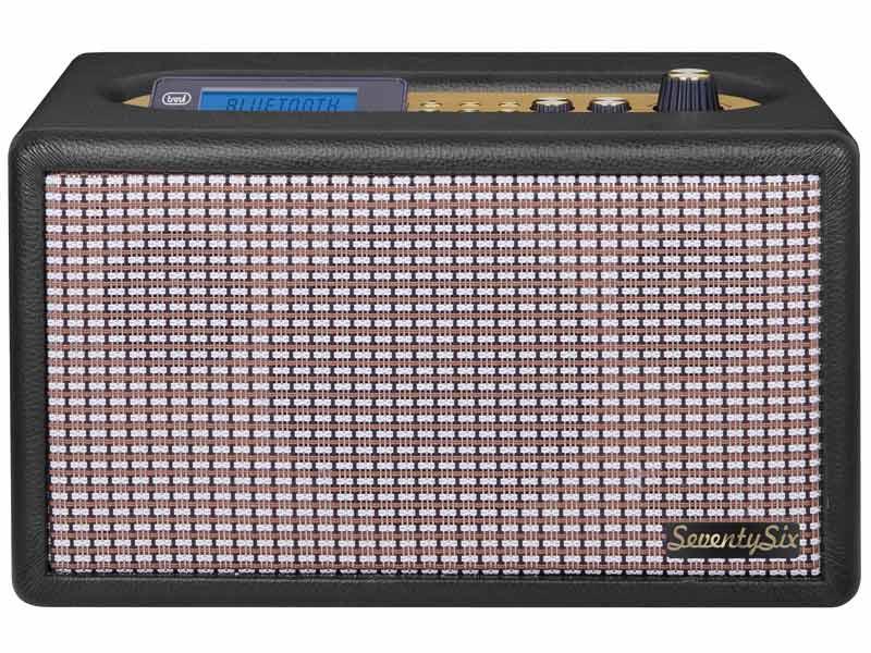 RADIO SEVENTYSIX 40° ANNIVERSARIO TREVI DS 1976 V NERO