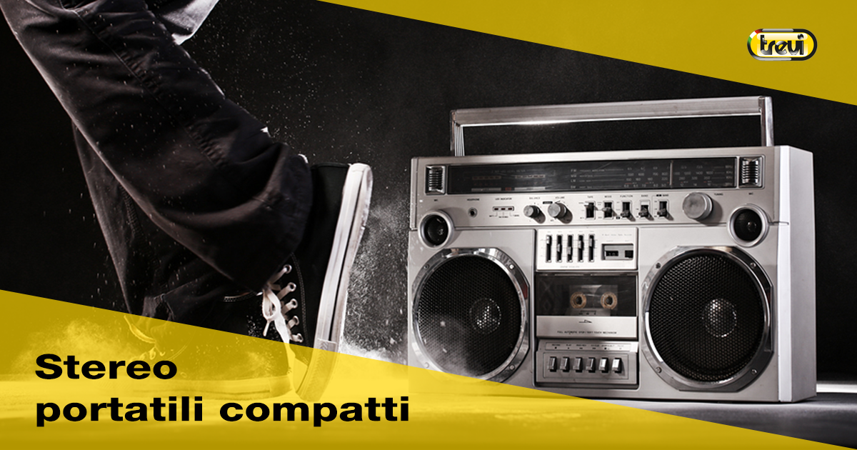 Stereo portatile compatto: come scegliere quello giusto?