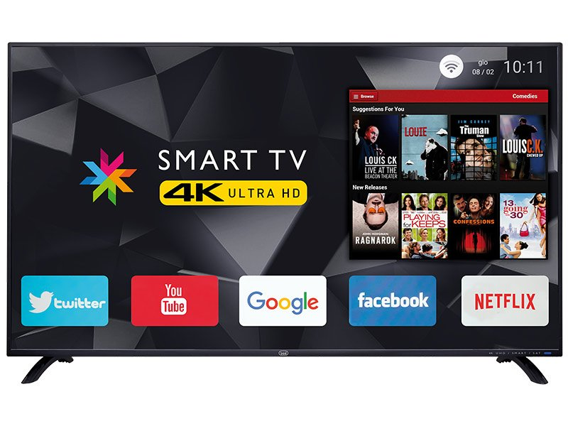 "TV 50"" LED 4K ULTRA HD ANDROID MULTISYSTEM TREVI UHD 5002 SMART"