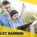Tablet per bambini: tra gioco e apprendimento