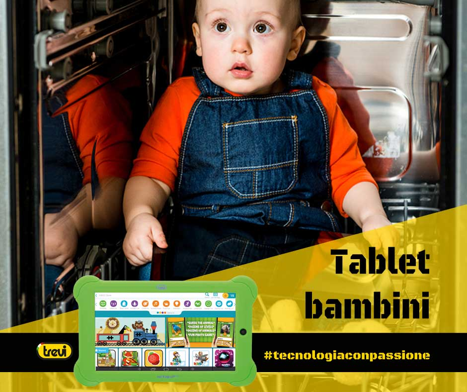 Tablet per bambini sicurezza