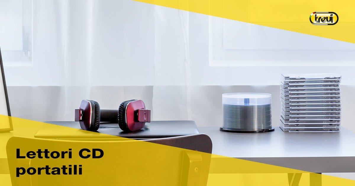 Lettori CD portatili