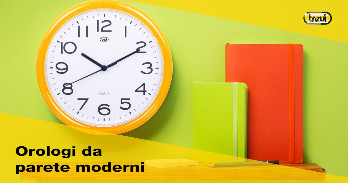 Orologi da parete moderni: quale scegliere
