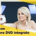 TV con lettore DVD integrato: combo mania