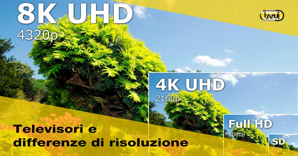 TV a risoluzione hd ready, full hd o 4k?