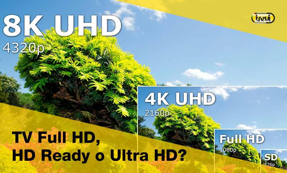 TV Full HD, HD ready, Ultra HD: quali differenze ci sono?
