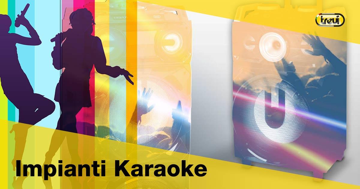 Impianti karaoke