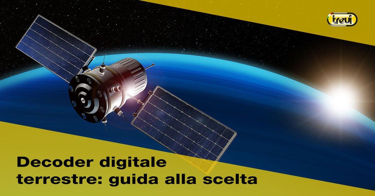 Decoder digitale terrestre: quale scegliere