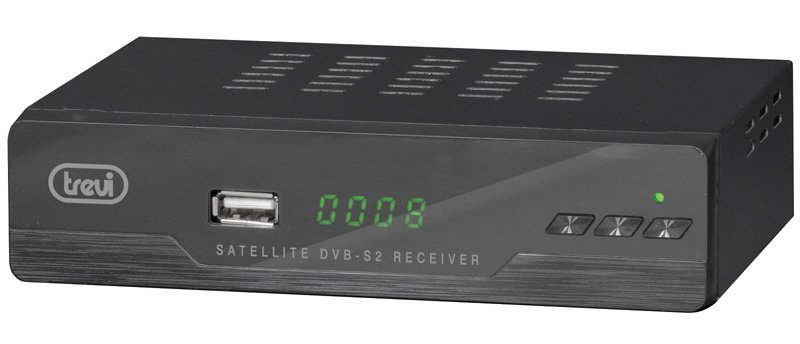 "Decoder Digitale Satellitare ""Free to Air"" Trevi SAT 3387 FA con Full HD"