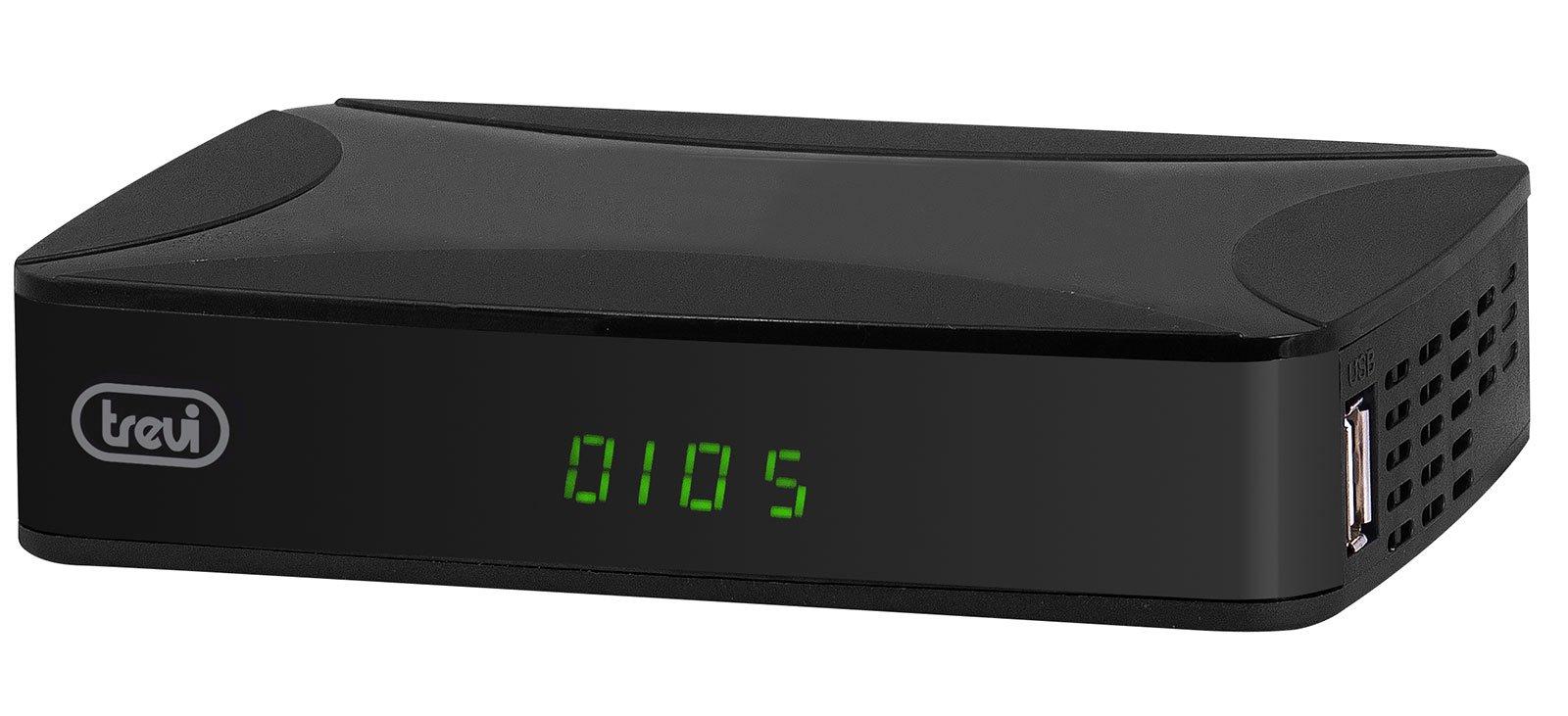 Decoder Digitale Terrestre DVB-T2 HEVC Trevi HE 3368 T2