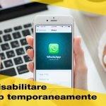 Come disattivare Whatsapp momentaneamente