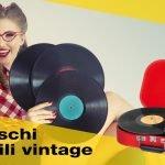 Giradischi portatile: il piacere del vintage moderno