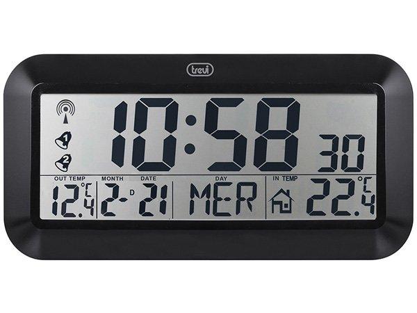 Orologio Digitale da Parete Radiocontrollato Trevi OM 3528 D