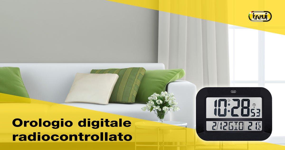Orologi da parete digitali radiocontrollati come funzionano for Orologio digitale da parete ikea