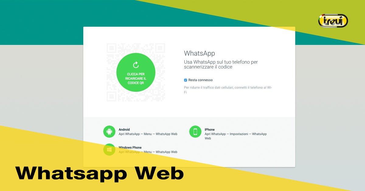 Whatsapp web: a cosa serve e come si usa