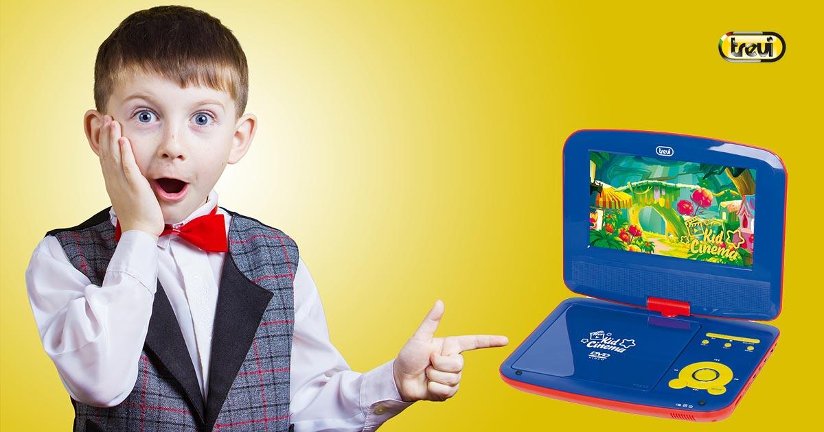 Lettore DVD portatile per bambini: guida alla scelta