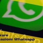 Come recuperare conversazioni Whatsapp