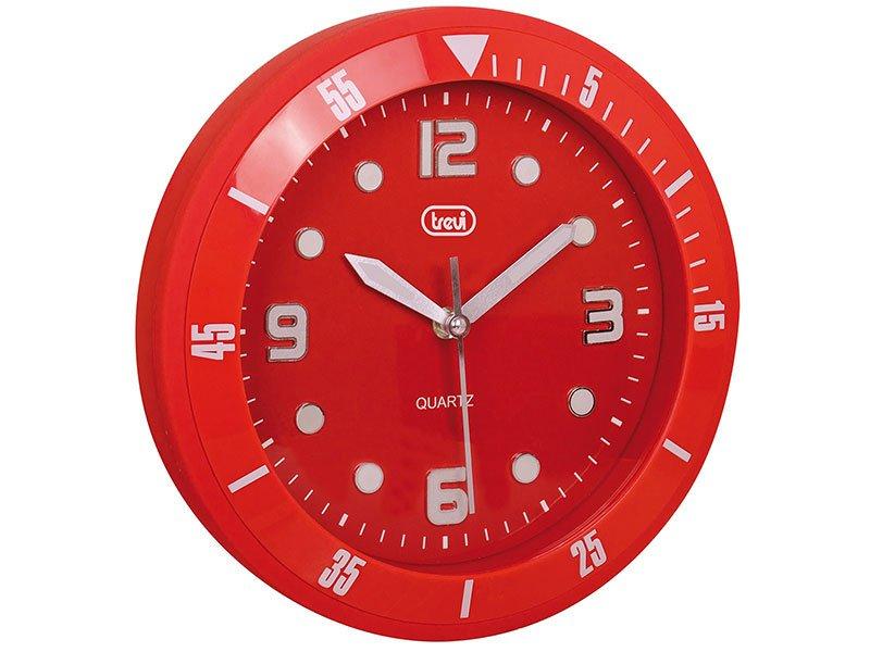Orologio da parete Trevi OM 3507 S rosso