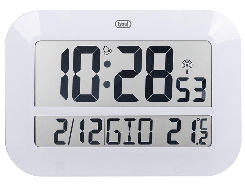 Orologio da parete radiocontrollato Trevi OM 3540 D