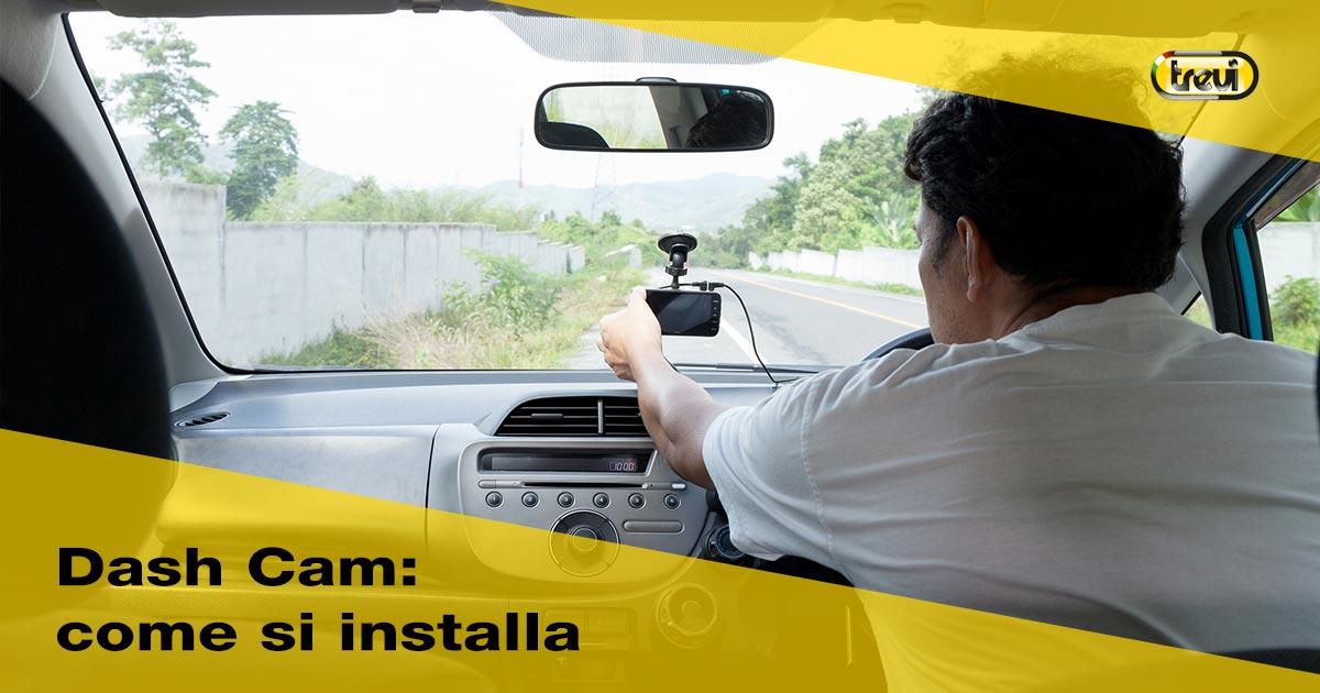 Dash Cam, la telecamera per auto contro atti vandalici: come installarla