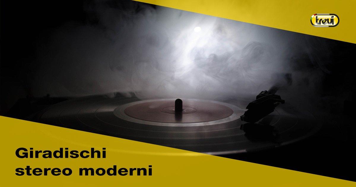 Giradischi stereo moderno