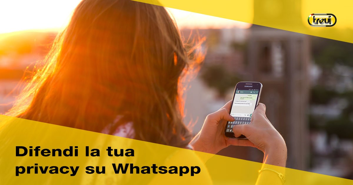 Difendere la privacy su Whatsapp