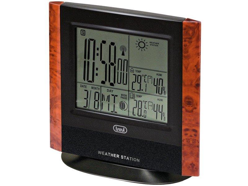 Stazione meteo sveglia con orologio radiocontrollato 3120 Trevi