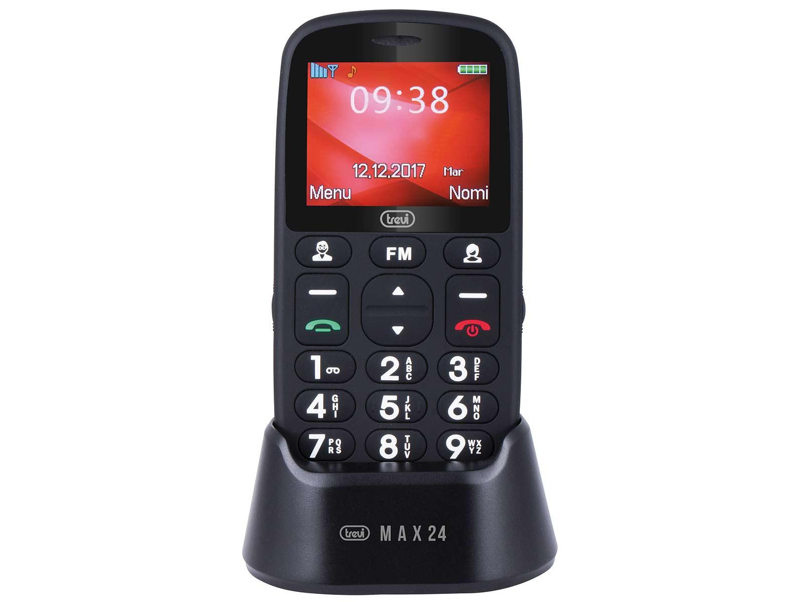 Cellulare per anziani tasti grandi Trevi Max 24