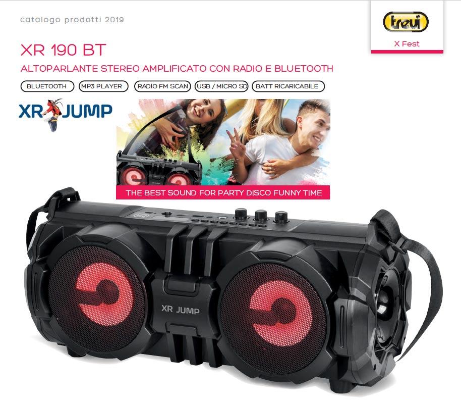 Speaker Portatile TREVI XR 190 BT