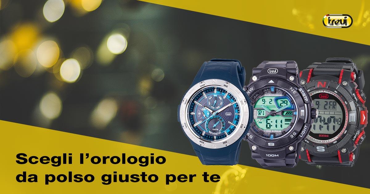 Come scegliere un orologio da polso per uomo?