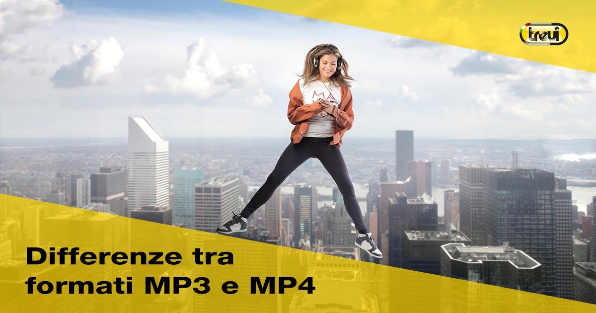 Qual è la differenza tra Mp3 e Mp4?