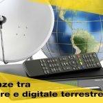 Decoder: differenza tra digitale terrestre e satellitare